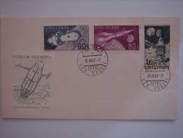 Czechoslovakia 1962 FDC Cover To UK - Tschechoslowakei/CSSR