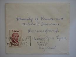 Ireland Eire 1959 Commercial Cover To UK - 1949-... Republic Of Ireland