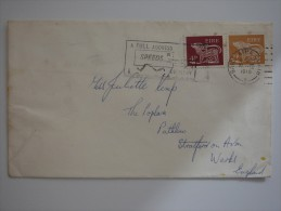 Ireland Eire 1970 Commercial Cover To UK #1 - 1949-... Republic Of Ireland