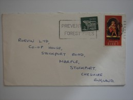 Ireland Eire 1975 Commercial Cover To UK - Covers & Documents