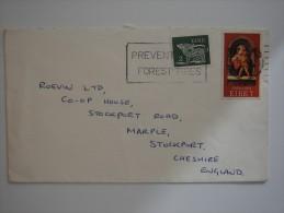 Ireland Eire 1975 Commercial Cover To UK - 1949-... Republic Of Ireland
