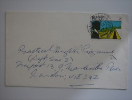 Ireland Eire 1977 Commercial Cover To UK - Covers & Documents