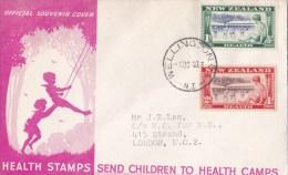 New Zealand 1948 Health FDC - FDC
