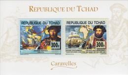 tch13114a Chad Tchad 2013 CHAD / 2013Navigators Ship s/s