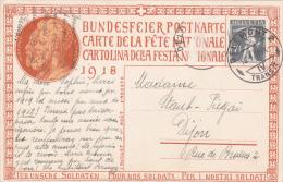 Carte De La Fête Nationale Suisse 1918 - No 20 - Pro Patria