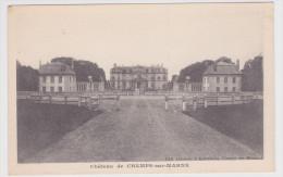 CHAMPS SUR MARNE - LE CHATEAU - France
