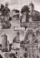 Würzburg, Mehrbildkarte - Wuerzburg