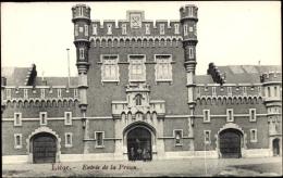 Cp Lüttich Wallonien Belgien, Entree De La Prison, Eingang Des Gefängnisses - Autres