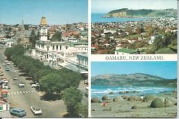 Oamaru New Zealand No 9001 Colour View Fotocentre Ltd Oamaru North Otago  Front & Back Shown - New Zealand