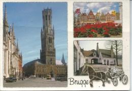 Greetings From Brugge  AVM Brugsesteenweg 93 - 8420 Wenduine Used To Australia Front & Back Shown - Brugge
