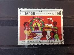 Ecuador - Kerstgebruiken (2.50) 1967 - Ecuador