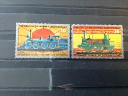 Equatoriaal Guinea - Serie 100 Jaar Japanse Spoorwegen 1972 - Equatoriaal Guinea