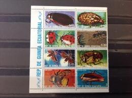 Equatoriaal Guinea - Blok Insecten 1978 - Equatoriaal Guinea