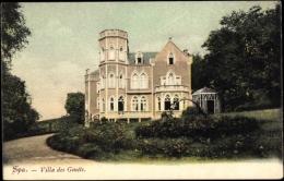 Cp Spa Lüttich Wallonien, Vue Générale De La Villa Des Genêts - Autres