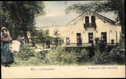 Cp Spa Lüttich Wallonien, Vue Générale De La Géronstère - Autres