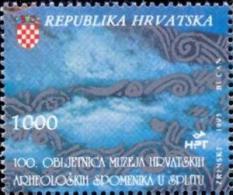 HR 1993-257 100A°ARCHEOLOGIK MUSEUM IN SPLIT, HRVATSKA CROATIA, 1 X 1v, MNH - Archäologie