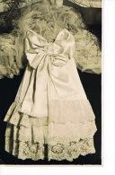 MODE  - ROBE DE MARIEE - Carte Photo 1933 - SCANS RECTO VERSO - Moda