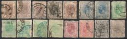 Roumanie Romana. 1893-1918. Entre N° 99 Et 257.  Oblit. Et Neuf * MH - 1881-1918: Charles Ier