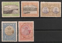 Roumanie Romana. 1913. Entre N° 224 Et 231. Oblit. Et Neuf * MH - Usati