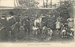 CHASSE A COURRE VILLERS COTTERETS AVANT LA CUREE - Chasse