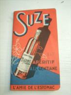 Petit Carnet De Bar- SUZE- Apéritif à La Gentiane - Amie De L'Estomac - Autres Collections