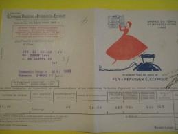 Quittance D´électricité/ Compagnie Parisienne De Distribution D´Electricité/Fer à Repasser Electrique/ 1934  GEF27 - Electricity & Gas