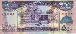SOMALILAND  500 Dhillings   Daté De 2008    Pick 6g    ***** BILLET  NEUF ***** - Somalia