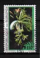 Burundi Y&T N° 1030 Oblitéré Fleur - Burundi