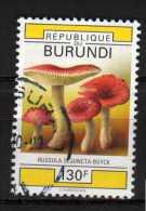 Burundi Y&T N° 983 Oblitéré Champignon - Burundi