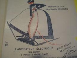 Quittance D´électricité/ Compagnie Parisienne De Distribution D´Electricité/Aspirateur électrique/ 1935  GEF29 - Electricity & Gas
