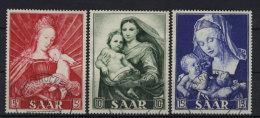 Saar Michel No. 351 - 353 gestempelt used