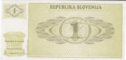 Cartomoneta Fior Di Stampa    SLOVENIJA (80211) - Banconote