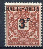 Haute-Volta                  Taxe   10  ** - Opper-Volta (1920-1932)