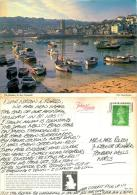 Harbour, St Ives, Cornwall, England Postcard Posted 1996 Stamp John Hinde - St.Ives