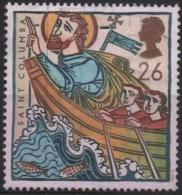 GRANDE-BRETAGNE 1942 (o) Saint Colomba Naviguant Vers L'ile Iona - Ungebraucht