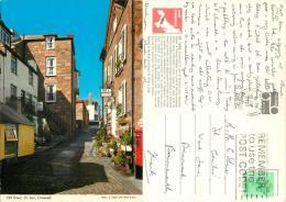 Old Street, St Ives, Cornwall, England Postcard Posted 1982 Stamp John Hinde - St.Ives