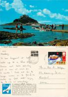 St Michael's Mount, Cornwall, England Postcard Posted 1985 Stamp John Hinde - Autres