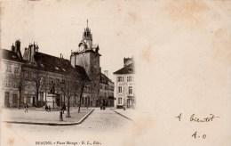 Beaune : Place Monge (Editeur G.L.) - Beaune