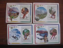 Madagascar 1992 MNH No BL 140.43 - Winter 1992: Albertville