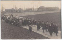 21021g PROCESSION - CHAMPS De CULTURE - Anderlecht - Carte Photo - Anderlecht
