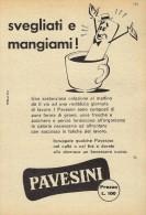 # BISCOTTI PAVESINI PAVESI 1950s Advert Pubblicità Publicitè Reklame Baby Food Biscuits Biscotti - Posters