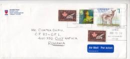 QUEBEC CONFERENCE, NURSES ASSOCIATION, DEER, STAMPS ON COVER, 2008, CANADA - 1952-.... Règne D'Elizabeth II
