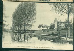 N°1404  -  Cerisy ( Deux Sèvres )  - Paysage Sur La Sèvre Au Chateau D'appel-Voisin   Dau48 - Cerizay