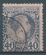 Monaco - 1885 - Charles III - N° 7  -  Oblitéré - Used - Monaco
