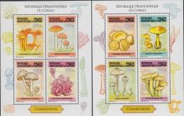cdr13107a R.D. Congo 2013 Mushrooms 2 s/s