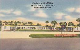Florida Fort Pierce Lake Park Motel