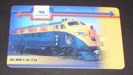 BULGARIA PHONECARD(MOBIKA) TRAIN 1  ,P107- 50000pcs-12/00-USED - Treinen