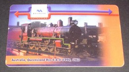 BULGARIA PHONECARD(MOBIKA) TRAIN 7  ,P111- 50000pcs-1/01-USED - Treinen