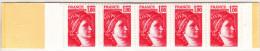 France N°1972** C2a SABINE DE GANDON Gomme Mate - Carnets