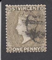 St Vincent 1882  1d  Used SG39 - St.Vincent (...-1979)
